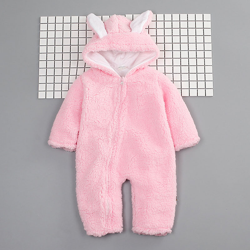 Winter Style Baby Clothes Thicked Cotton Hoodie Baby Costume Baby Girl Boy Clothes Infant Jumpsuits Newborn Coveralls Rompers<br><br>Aliexpress