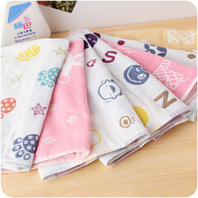Cotton Cartoon Towel Small Size Children Microfiber Toalha De Esportes Swimming Travel Gym Towel