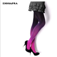Buy [EIOISAPRA]Harajuku Velvet Tights Women Candy Color Gradation Tights Stockings Colorful Pantyhose Female Sexy Pantys Medias