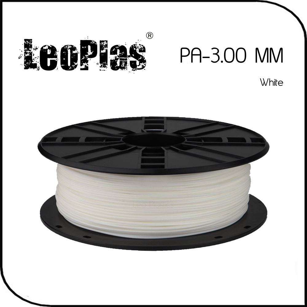Worldwide Fast Delivery Direct Manufacturer 3D Printer Material 1kg 2.2lb 3mm White PA Filament<br>