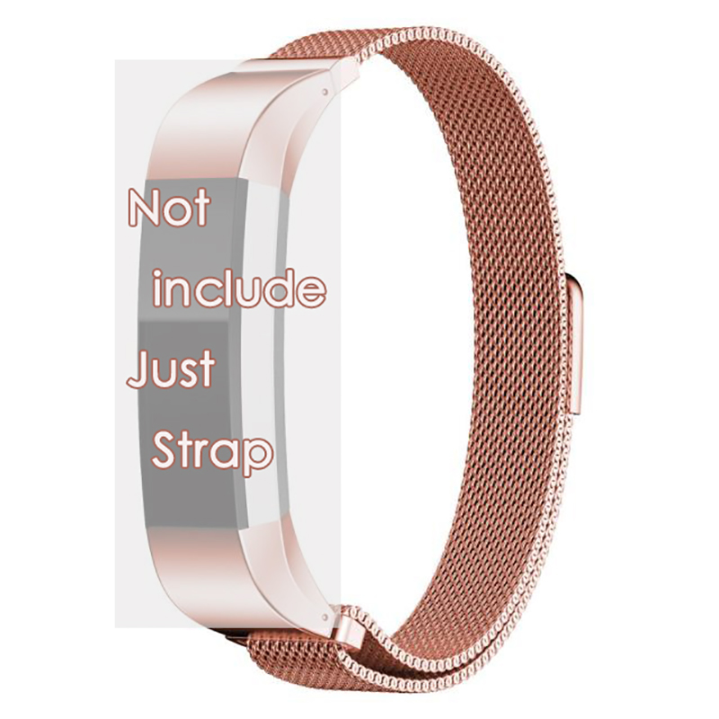 2017 Top Magnetic Closure Clasp Mesh Band For Fitbit Alta Smart Watch Stainless Steel Milanese Loop Mesh Link Bracelet band 12mm<br><br>Aliexpress