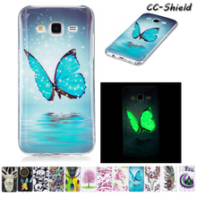 Luminous Case for Samsung Galaxy J5 J 5 2015 SM-J500 SM-J500F SM-J500H SM-J500FN SM J500 J500F J500H J500FN TPU Soft phone case(China)
