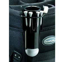 Golf Ball Tee Holder Golf Pro Clip Caddy with Nylon Brush Divot Tool  SS