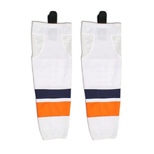 Free shipping Ice Hockey Equipment Socks Team Sport Support Hosiery Adult Hockey Sock Ice Hockey Socks W035(China)