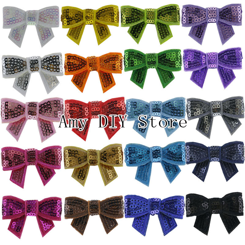 Free Shipping 1.8 Mini Sequin Bow With Alligator Clip Baby Gccessories Boutique Bows hair Clips For DIY Hair Ribbon Bows<br><br>Aliexpress