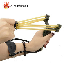 Shooting Tactical Sniper Precision Slingshot Powerful Slingshots Catapult With Rubber Band Airsoft Outdoor Game Equipment Combat(China)