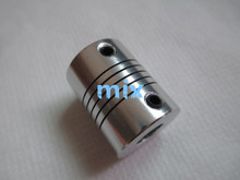 Fixmee 1Pcs 5x6 mm Motor Jaw Shaft Coupler 5mm To 6mm Flexible Coupling OD 19x25mm Brand New(China)