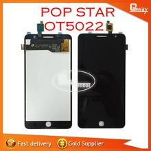 Full LCD DIsplay+Touch Screen Digitizer Assembly For Alcatel One Touch Pop Star 3G OT5022 5022X 5022D Free Fast Shipping