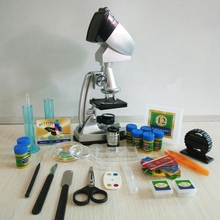 1200X Educational Microscope with Configure Projector LED Light Source and accessories as Gifts Toys and Learning Tools for Kids