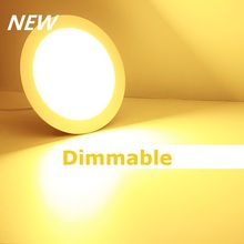 Free Shipping  Dimmable LED Downlight 3W 4W  6W 9W 12W 15W 25W Power Driver Ceiling Panel Lights Cool Warm White