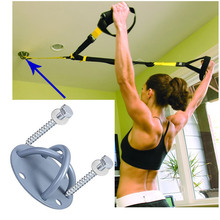 Yoga fitness equipment fixed disc hanging hammock chuck ceiling buckle Fitness door anchor for Yoga hammock Mount Anchor ship