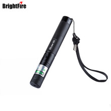 Promotion 303 Laser Pointer High Power Green Laser Pointer Pen Lazer Burning Match + Safe Key With No 18650 Battery