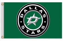 Dallas Stars Flag NHL  3ft x 5ft Polyester Banner Flying 150* 90cm Dallas Stars Flag 879779