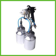 SAT1184 Compressed Air For Painting Chrome Paint For Car Spray Foam Mini Spray Paint Cans Blue Chrome Paint(China)