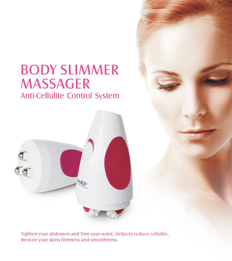 Electric Body Facial Massager Health Skin Care Face Lift Firm Beauty Device Cellulite Slimming Cleanser BF1407<br>
