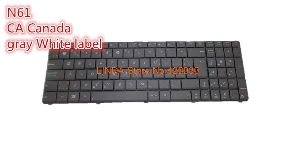 New ASUS N61D N61DA N61J N61JA N61JQ N61JV N61VF N61VG N61VN US white keyboard