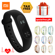 Xiaomi Mi Band 2 Smart Bracelet Heart Rate Monitor Wristband Miband 2 Fitness Tracker Android Bracelet Smartband IOS Step Count