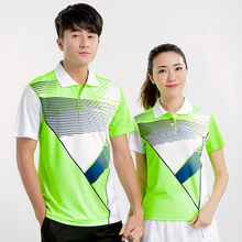 Free Print Badminton t shirt , Tennis t shirt Male/Female , Tennis shirts ,Table Tennis t shirt , sports shirt 5070