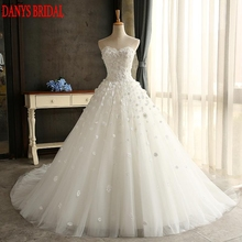Buy Lace Wedding Dress Ball Gown Sweetheart Tulle Wedding Gowns Weeding Weding Bridal Bride Dresses Weddingdress vestido de noiva for $169.20 in AliExpress store