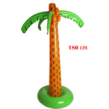 1.8M Hawaii Inflatable Palm Tree Birthday Party Home Decorations Stage Props Inflated Cooler Ice Bucket For Sandbeach KIDS Toys