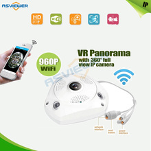 Panoramic 3D VR Camera IP Wifi Camera 360 degree Wide Angle Home Security Video Surveillance Camera Webcam Support Two Way Talk
