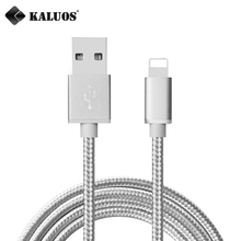 KALUOS 0.2m 1m 1.5m 2m 3m Ultra Long High Speed Phone Charger Cord USB Data Sync Charge Cable For iPhone 5 5S 5C 6 6S 7 Plus SE