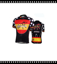 Best Selling Nice 2016 Lowest Price Ropa Ciclismo Breathable Spain Cycling jersey Maillot Cycling Wear Bike Apparel Italy Ink(China)