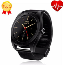 Best Selling Smart Watch MTK2502C Support Heart Rate Monitor Wake Up Gesture with Changeable Strap for IOS & Android Phone K18(China)