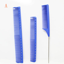 Japan Unbreakable Y/S PARK Hairdressing Comb Set 3 Color Barber Haircut Comb In Resin Material Antistatic Hairdresser Comb kit