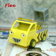 (10pcs/pack) Wholesale Brand New Bob The Builder Toys Flex Elevator Truck Diecast Metal Car Model Toy