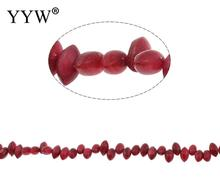 Natural Freshwater Shell Beads for making diy Jewelry Horse Eye, claret, 9-10mm, Hole:Approx 1mm 14.7 Inch Strand(China)