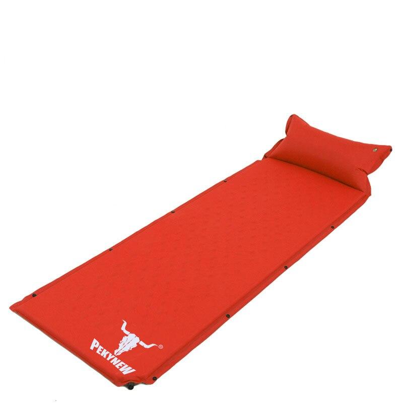 Inflatable bed beach mat mattress inflatable camping mat air folding mattress air mat waterproof picnic mat fold pillows spliced<br><br>Aliexpress