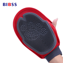 Cat Pet Dog fur Grooming Groom Glove Mitt Brush Comb Massage Bath New big dog wash tool Bubble maker(China)