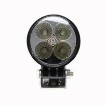 Auto parts 12W Epistar led work light flood lighting 10-30V DC led driving lights for construction industrial offroad vehicles
