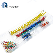 Hot Sell 140 pcs U Shape Solderless Breadboard Jumper Cable Wire Kit For Arduino Shield And Raspberry Pi DIY