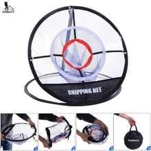 RUNACC 20'' Golf Training Chipping Net Portable Golf Hitting Practice Net Practical Golf Driving Net Indoor and Outdoor Use(China)