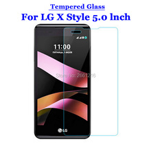 For LG X Style Tempered Glass 9H 2.5D Premium Screen Protector Film For LG X Style XStyle K200 K200DS 5.0""