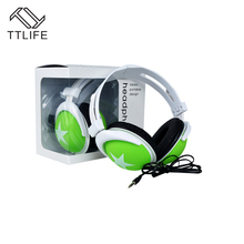Original TTLIFE Wired Sport Earphone Big Star B0004 Super Bass Headphone Music In-ear Headset With Mic for Android Phone Xiomi