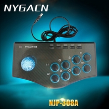 Computer arcade joystick PC street fighting game controller USB gamepad for Windows XP Win7 Win8 Win10 plug & play free driver(China)