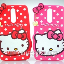 For LG G3 Stylus D690 Case Case 3D Lovely Cute Hello Kitty Kt Cat Silicon Back Case Soft Cover Phone Case(China)