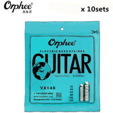 Original Orphee VX140 030-125 Electric Bass Strings 6 Strings bass Nickel Alloy Vigorous Tone guitar Strings 10 set(China)