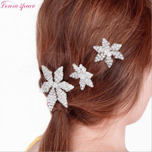 Loura Shace Manual Crystal Beads Hair Combs Tiaras For Women Bridal Wedding Hair Accessories Handmade Jewelry