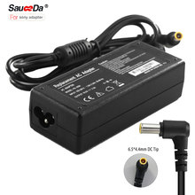 Sauceda 64w 16v 4A 64W Laptop Ac Dc Adapter Power Supply for Sony Laptop power adapter battery charger DC Tip 6.5x4.4mm