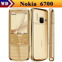 Cheapest 6700C Original Nokia 6700 Classic Cell Phone Unlocked GPS 5MP 6700c Russian Keyboard Free Shipping!!!(China)