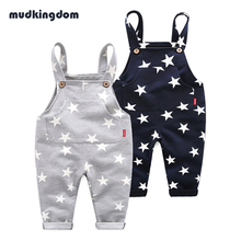 Mudkingdom 100% cotton girls boys pants baby jeans warm trousers winter kids pants for Boy girl jeans Children clothing leggings(China)