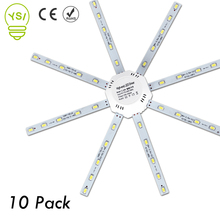 10pcs High Bright LED Lamp Octopus Light 12W 16W 20W 24W LED Ceiling Lamp Board 220V 5730SMD Led Light Source Indoor Lighting