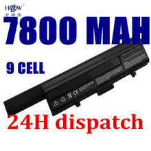 9CELL 7800MAH Battery for DELL XPS M1330 UM230 PU556 PU563 CR036 TT485 WR053 0WR053 0CR036 PU563,312-0566,312-0739