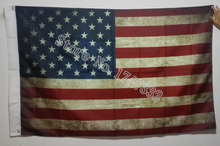 USA United States Antique do the old Flag Retro Flag hot sell good 3X5FT 150X90CM Banner brass metal holes Custom Flag