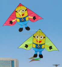 free shipping high quality children kites 1.8m Minions kite with handle line ripstop nylon outdoor toys flying hcxkite volant(China)