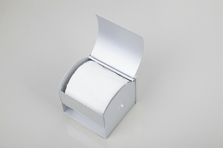 New CZJ5104 Toilet Paper Box Wall Mounted Toilet Paper Holder Bathroom Tissue Box Paper Holders Accessories<br>